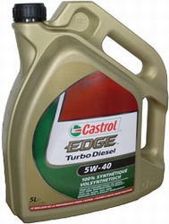castrol edge turbo diesel huile moteur 5w 40 5l www. Black Bedroom Furniture Sets. Home Design Ideas