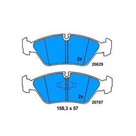 Plaquettes de frein ATE 13.0460-5702.2