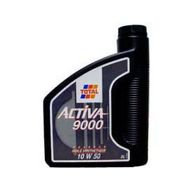 Huile Moteur Essence Diesel TOTAL ACTIVA 9000 10W50  2L