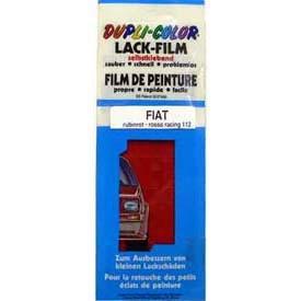 Film de peinture FIAT Rouge 112