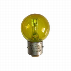Lampe code standard 6V 36/45W BA21d jaune