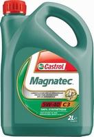 Huile Moteur Essence Diesel Castrol Magnatec 5W40 C3  2L