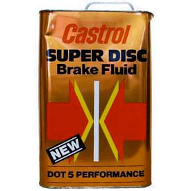 Liquide De Freins DOT5 CASTROL SUPER DISC BRAKE FLUID  5L