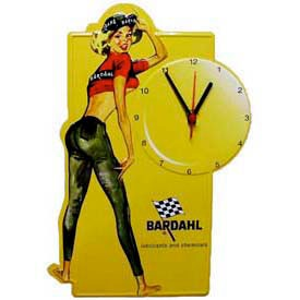Horloge Murale Pin Up BARDAHL