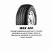 UNIROYAL MAX 400 185R15C CAMIONNETTE